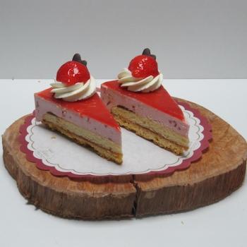 Kwarkpunt aardbei - Ambachtelijke Bakkerij Peters - Leens