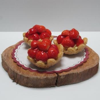 Aardbeienschelp - Ambachtelijke Bakkerij Peters - Leens