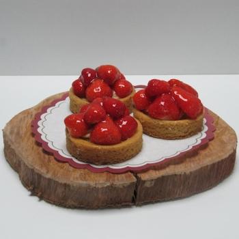Pencee aardbeiengebakje - Ambachtelijke Bakkerij Peters - Leens